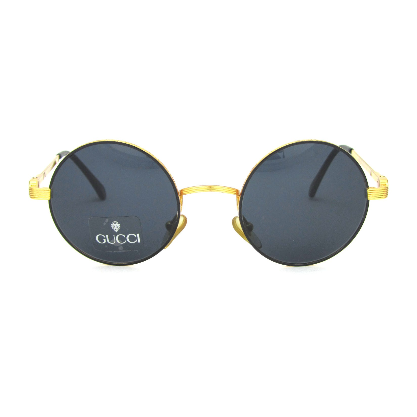 ef1f70a7f7 GUCCI GG 1258 S COL. 031. ROUND HANDMADE SUNGLASSES FROM 90s ...