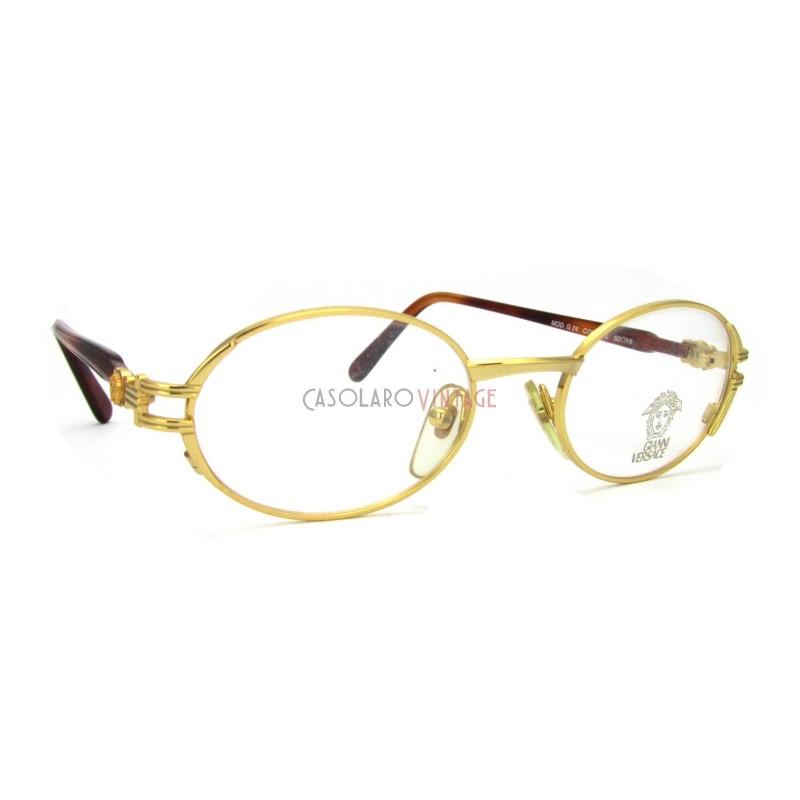 6d5ef55a98 ... Gianni Versace G24 19L vintage eyeglasses ...